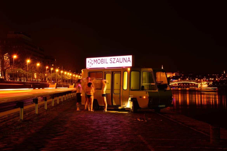 VALYO mobile sauna in Budapest