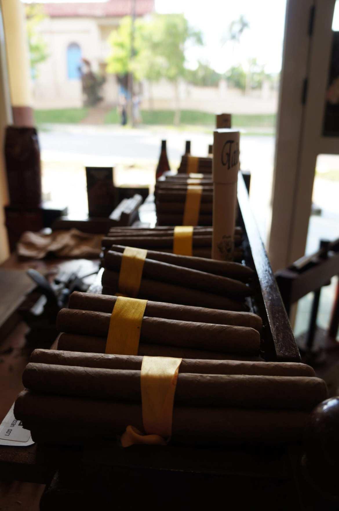 cigar shop in vinales, cuba