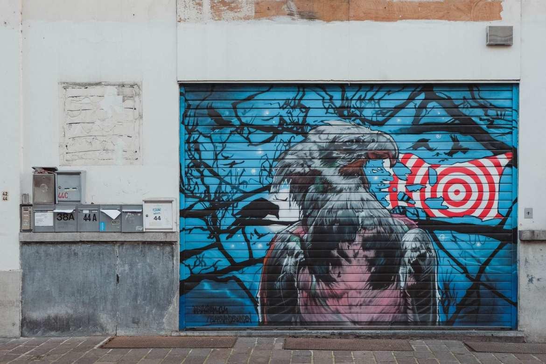 street art in ghent