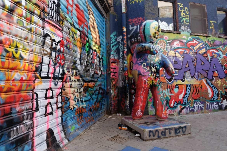 Werregarenstraat - or Grafitti Alley in Ghent, belgium
