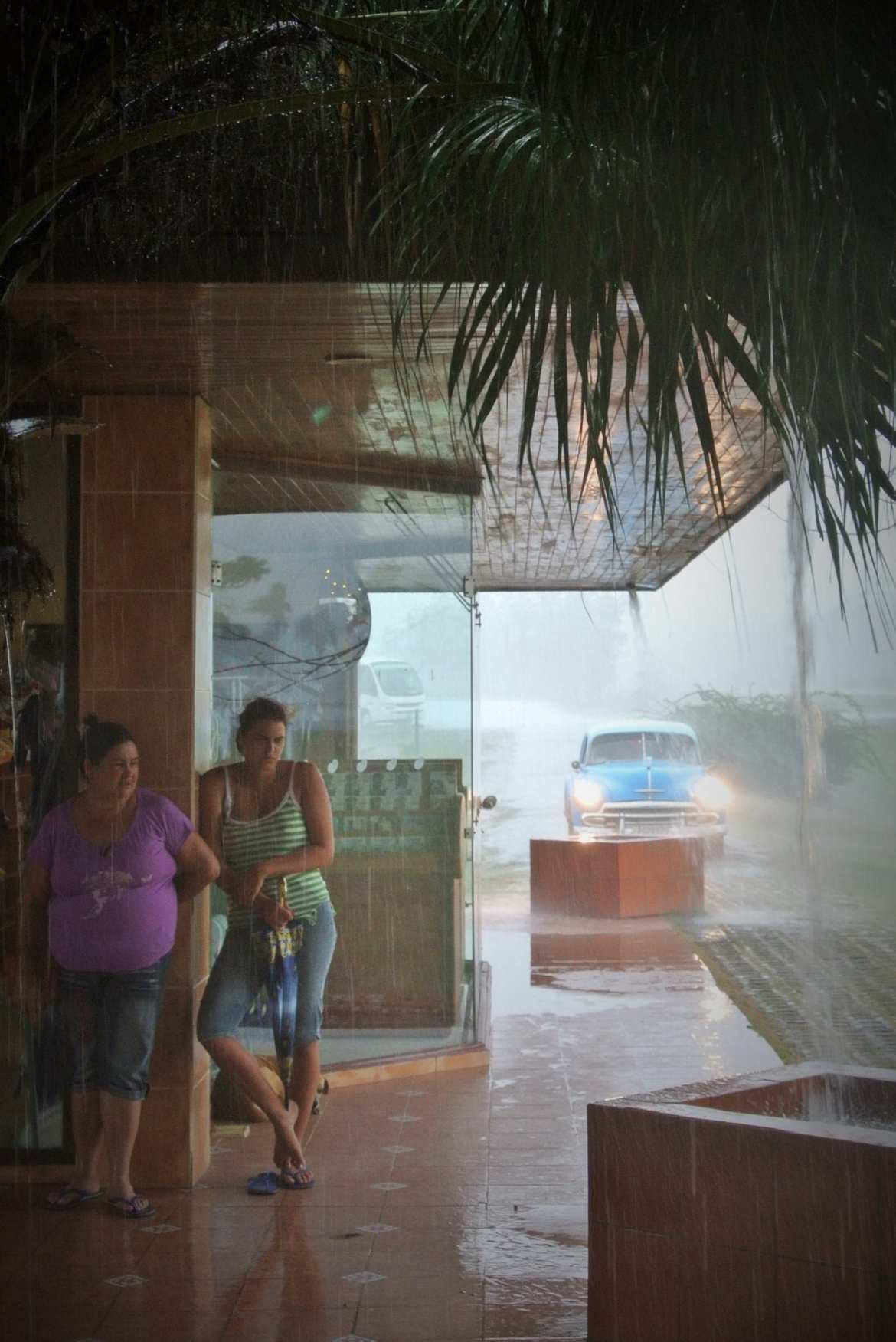 rain in vinales, cuba