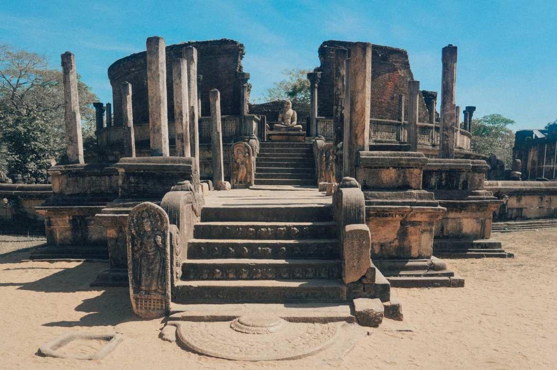 ruins of polonnaruwa, Sri Lanka