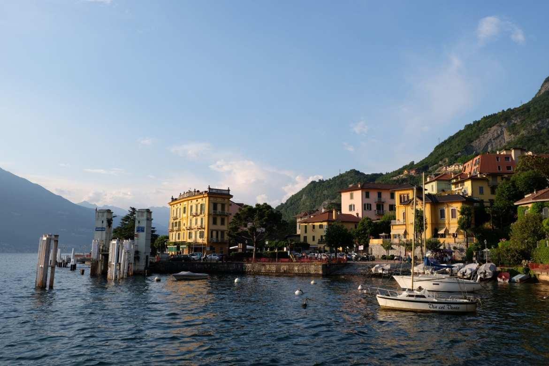 Bellagio as seen from lake como