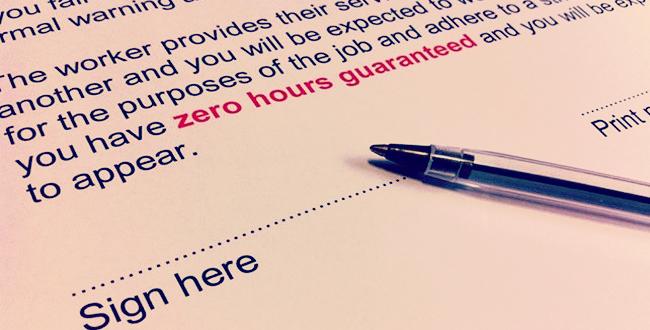 Zero Hour Contract