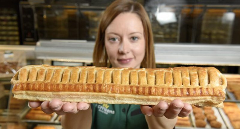 Morrisons Foot Long Sausage Roll
