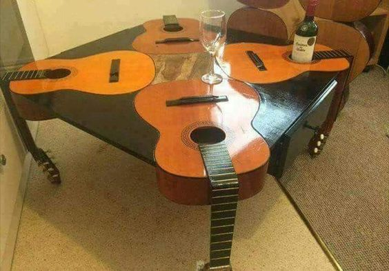 guitars come table inc legs