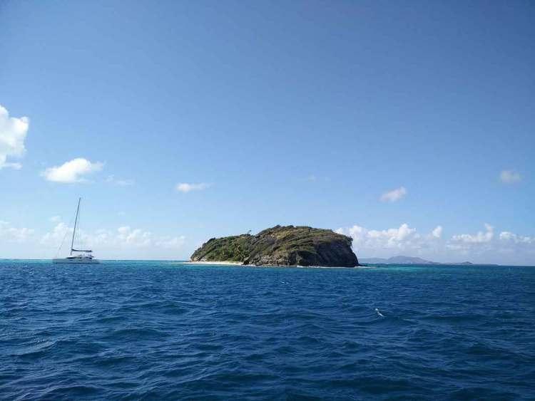 Jamesby, un des minuscules îlots des Tobago Cays.