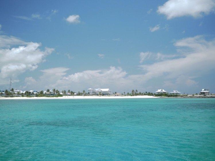 Chub Cay, une marina au sud des Berry Islands aux Bahamas.