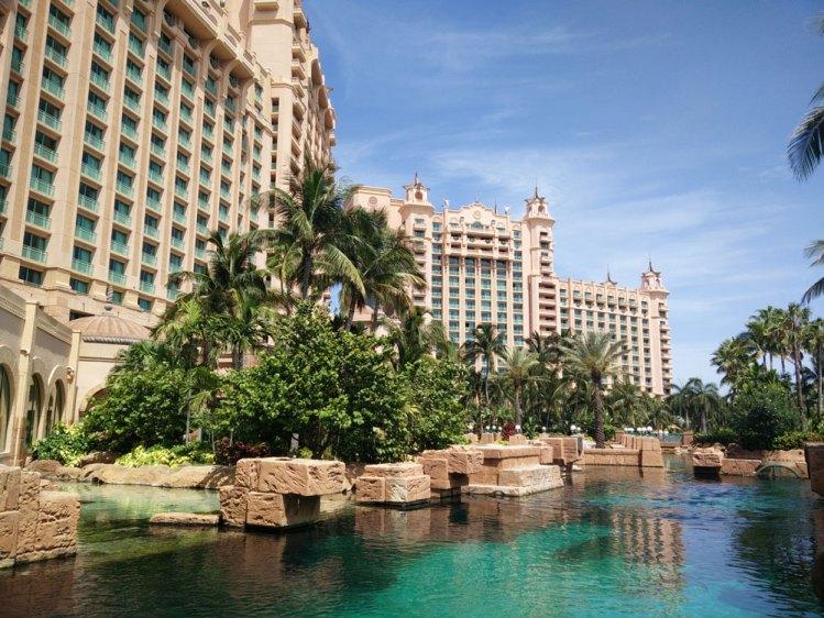 Hôtel Atlantis à Nassau aux Bahamas.
