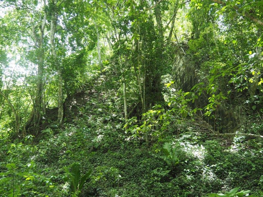 Le Temple III à Tikal, au Guatemala.