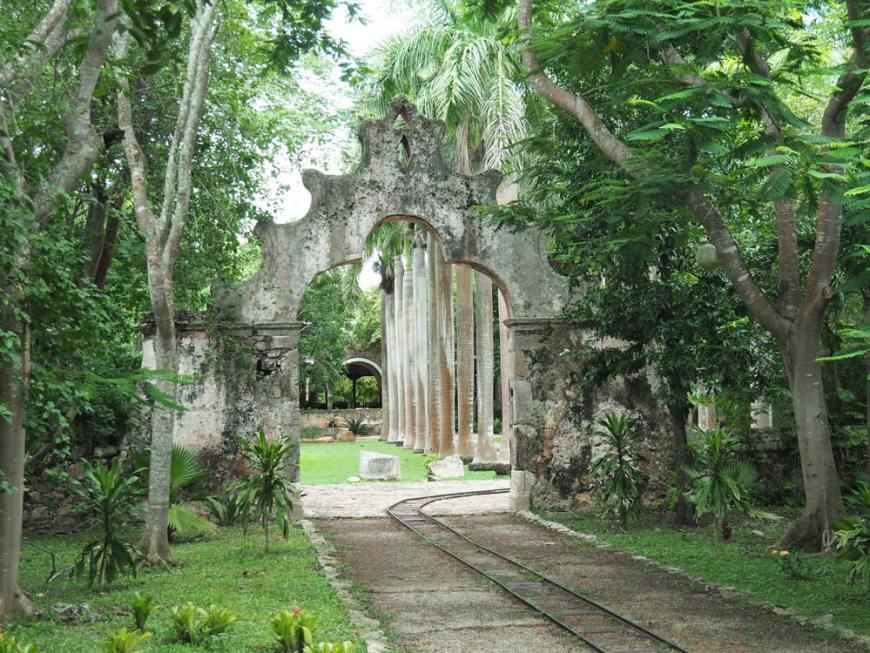 Entrée de l'hacienda San Pedro Ochil.