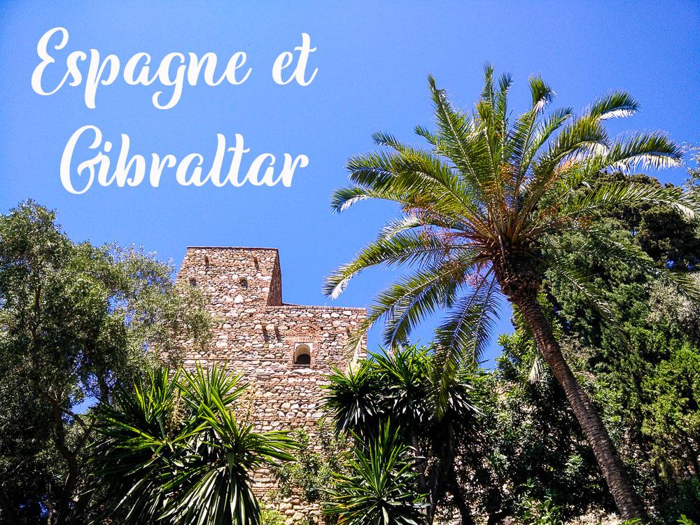 Destinations Espagne et Gibraltar en voilier.