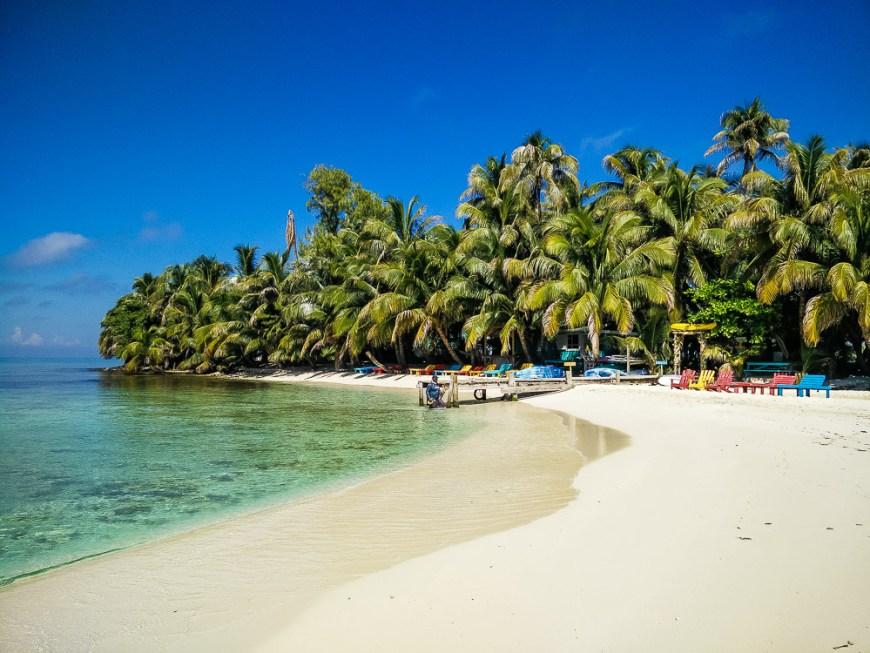 Île de Ranguana Cay au Bélize.