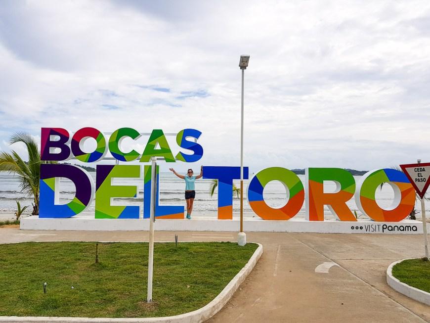 Lettres de la ville de Bocas del Toro.