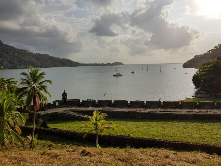 Un des forts de Portobelo avec vue sur la baie.