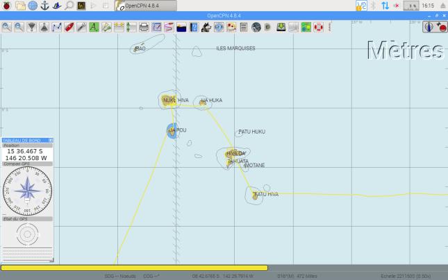 Notre trace à travers l'archipel des Marquises