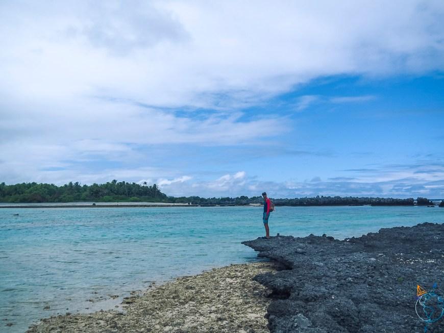Découverte de l'île aux récifs au sud de Rangiroa.