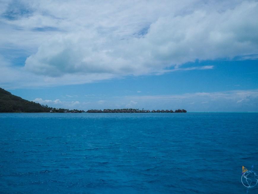 L'hôtel de luxe Conrad Bora Bora Nui.