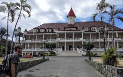 Mairie de Papeete, au centre-ville.