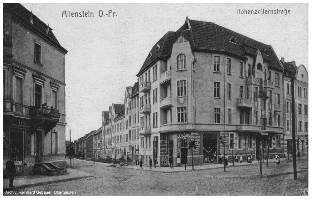 Allenstein (Ostpreußen) Records – ManyRoads