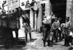 Jewish Family eviction from their home on Wilhelm Straße in Elbing