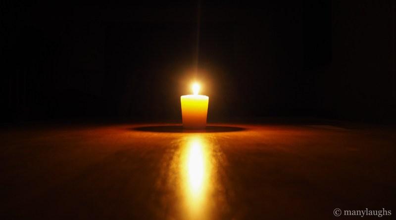 Sugggestive candle