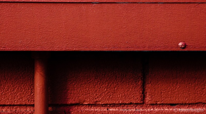 Building a red wall
