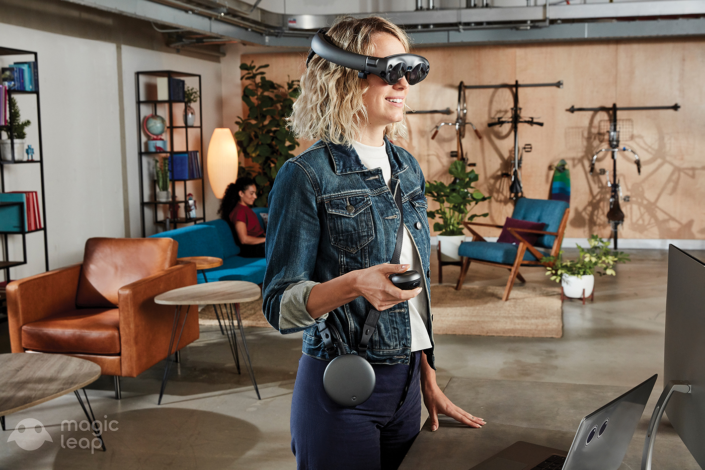 Magic Leap One Creator Edition Standing