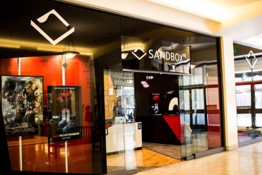 Sandbox VR San Mateo Storefront