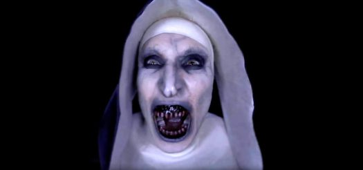 The Nun Screaming