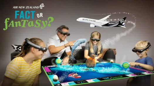 Air New Zealand Fact or Fantasy Magic Leap Experience