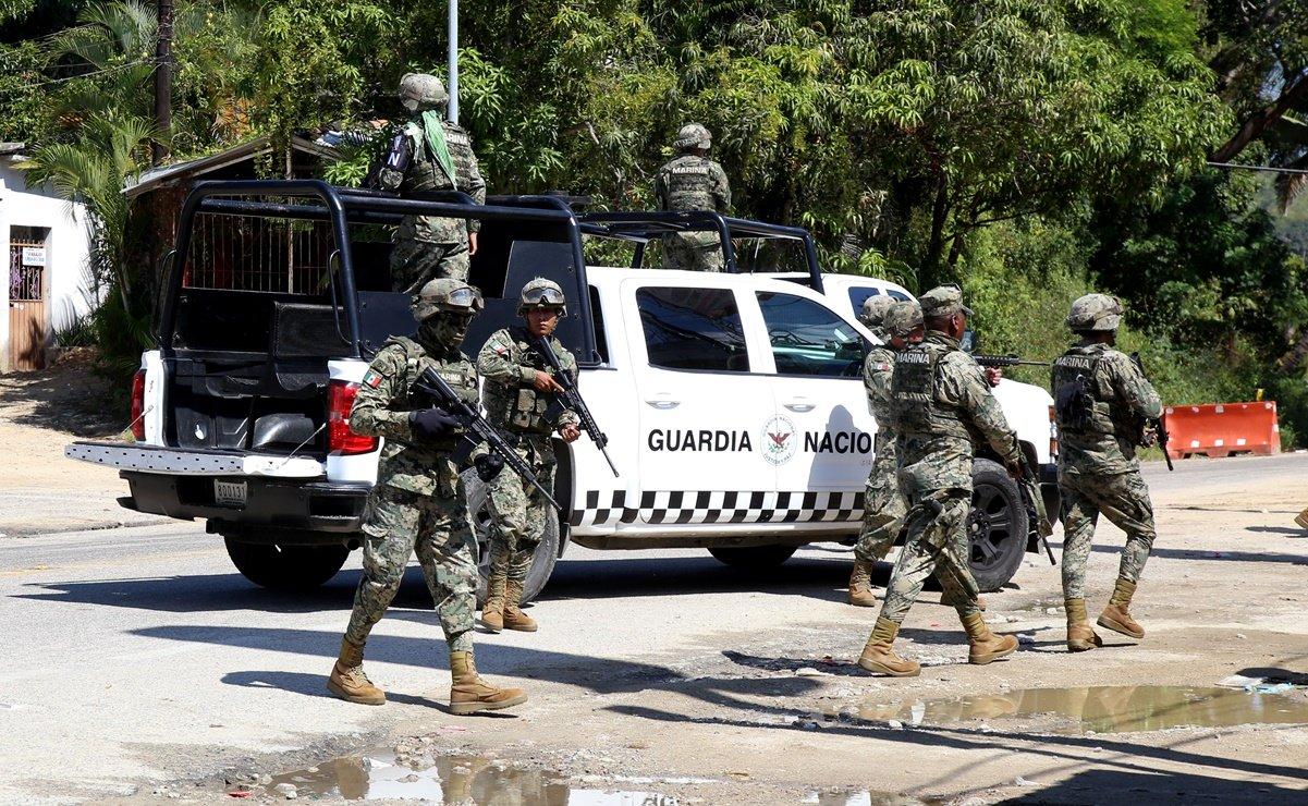 Policía Estatal monta fuerte operativo contra restaurantero de Las Brisas