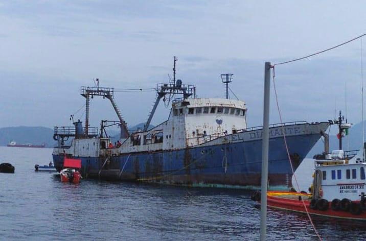 Barco hundido creará arrecifes artificiales en aguas de Manzanillo