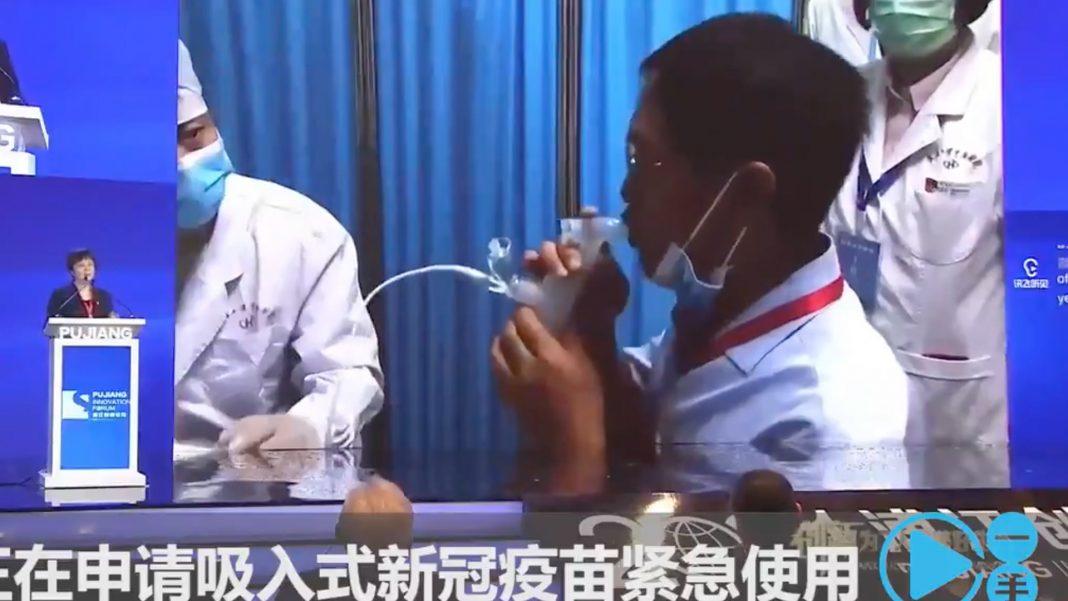 CanSino presenta la primera vacuna inhalada contra COVID-19 del mundo