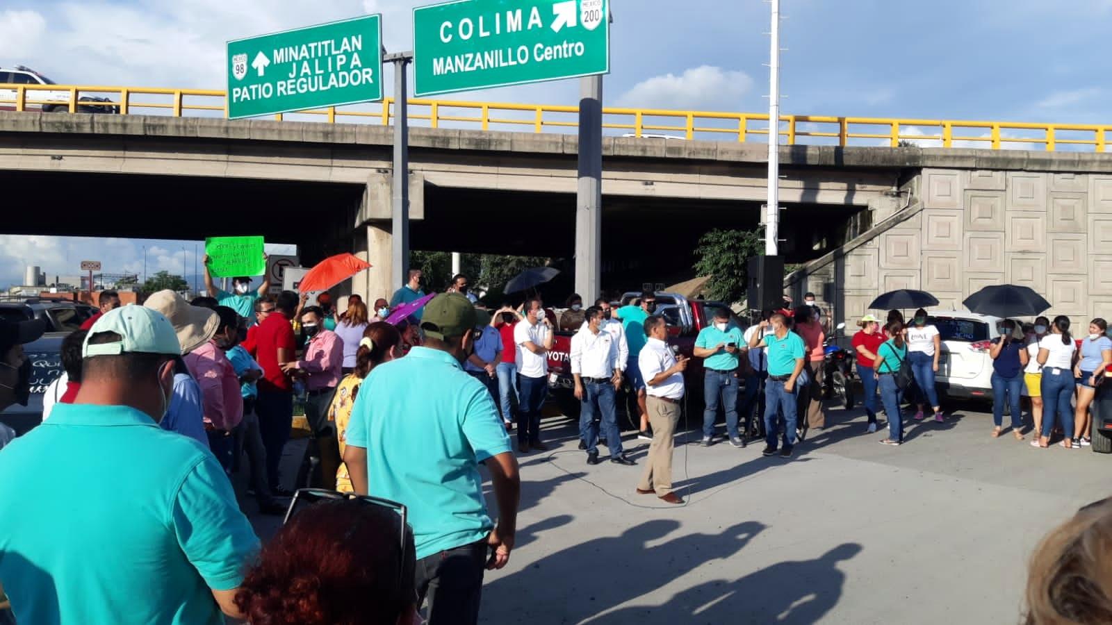 COPOMA denuncia  a Martín Flores por bloqueo de accesos al Puerto de Manzanillo