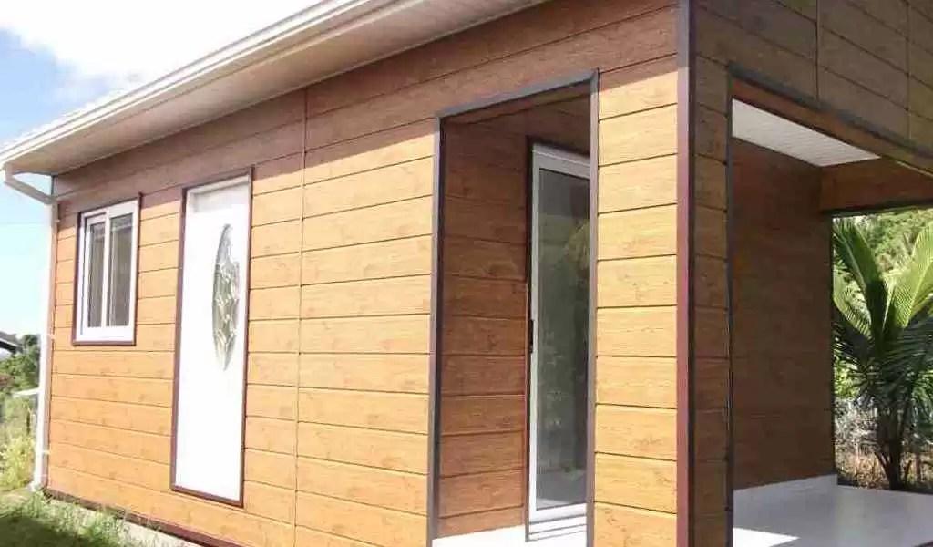 bungalow pret a poser en bois ou
