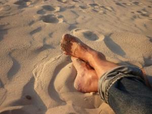 Existem diversões mais saudáveis para quem gosta de ficar descalço...