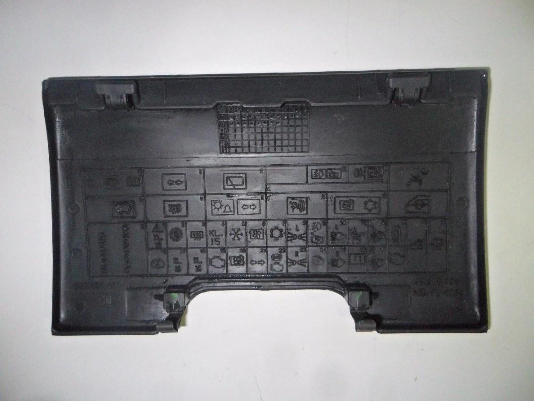 símbolos da caixa de fusíveis de carros