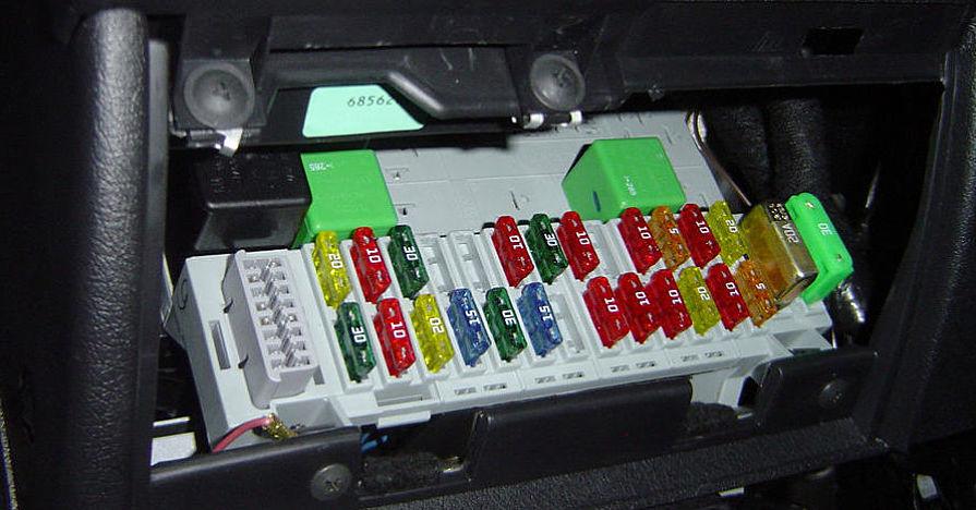 simbolos da caixa de fusiveis de carros maos ao auto