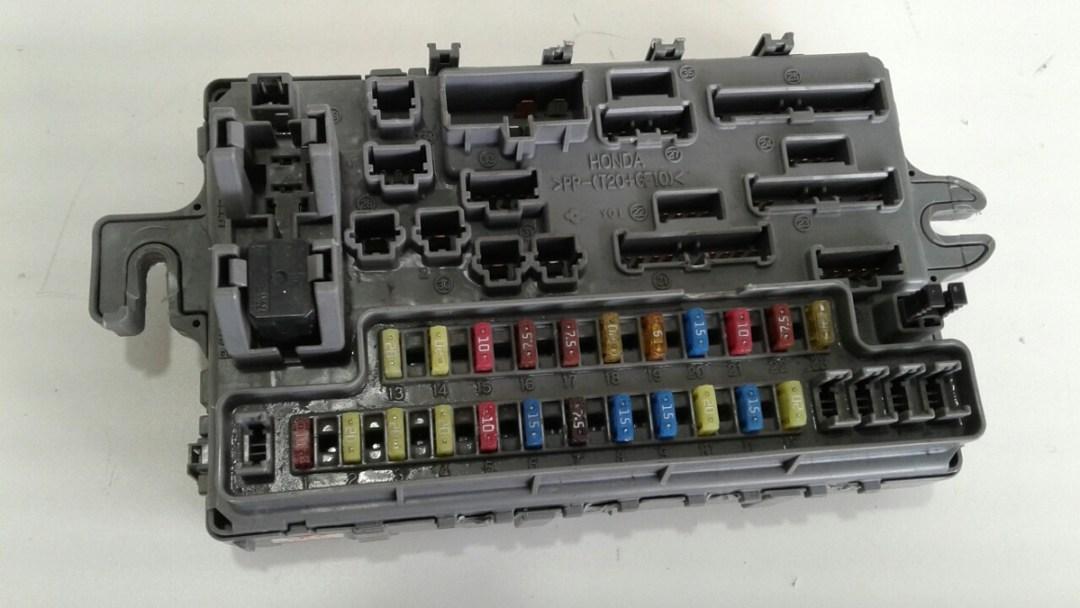 Fusíveis do Honda Fit