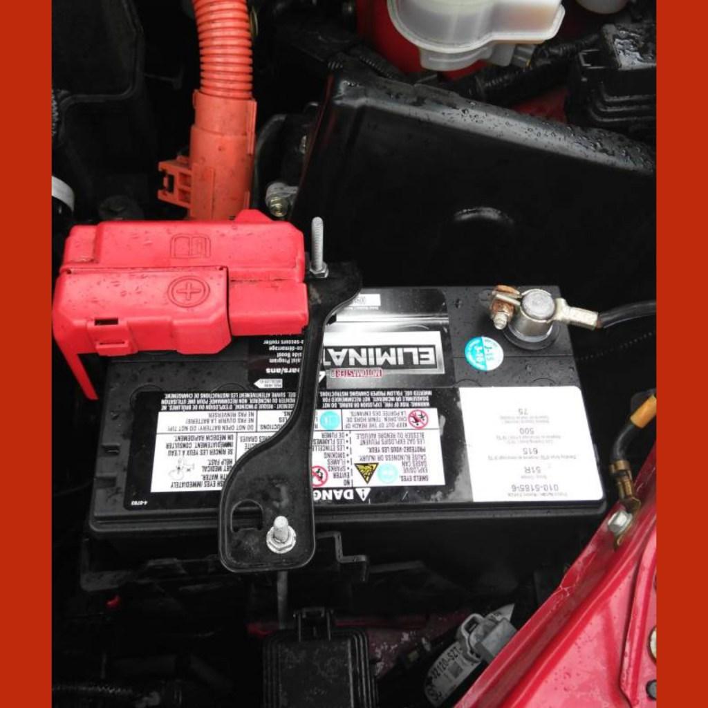 A bateria do Honda Fit mudou