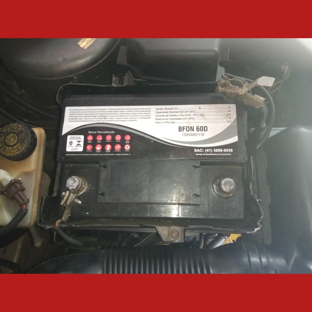 Qual a bateria do Peugeot 206