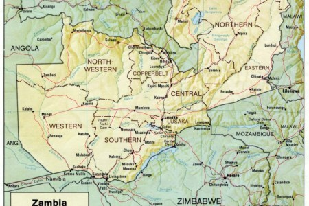 Download ePub PDF Free Libs » map of africa with zambia