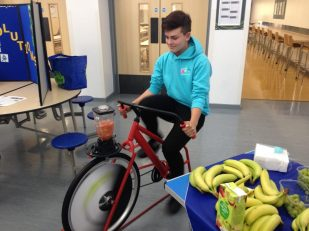 Make your own smoothie - with a bike!