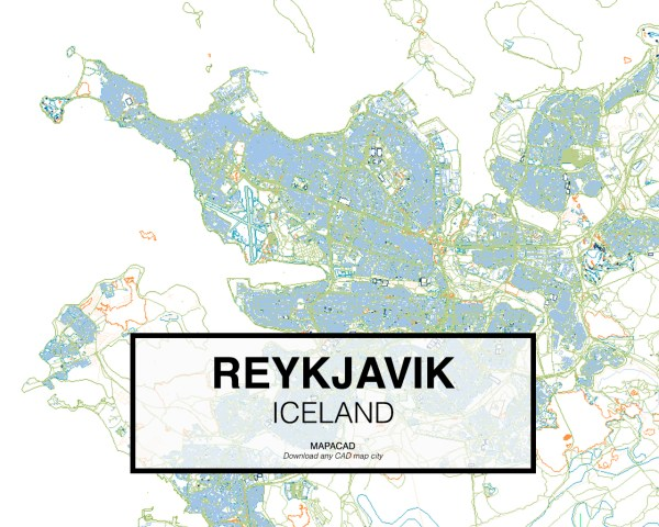 Reykjavik-Iceland-01-Mapacad-download-map-cad-dwg-dxf-autocad-free-2d-3d