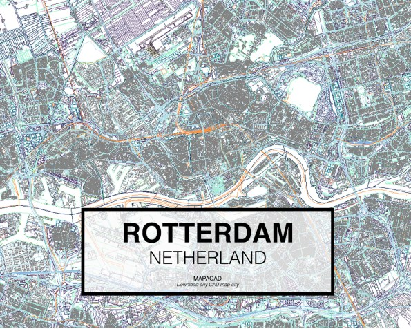 Rotterdam-Netherland-01-Mapacad-download-map-cad-dwg-dxf-autocad-free-2d-3d