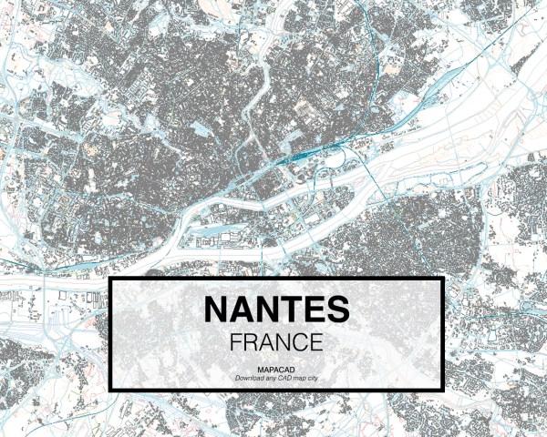 Nantes-France-01-Mapacad-download-map-cad-dwg-dxf-autocad-free-2d-3d