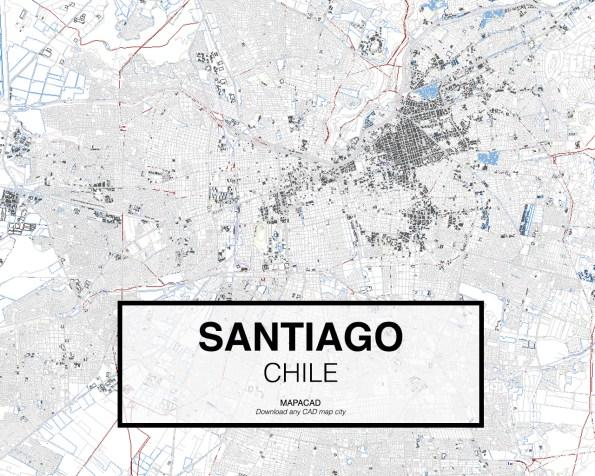 Santiago-Chile-01-Mapacad-download-map-cad-dwg-dxf-autocad-free-2d-3d