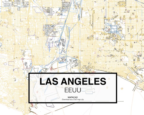 Los-Angeles-EEUU-02-Mapacad-download-map-cad-dwg-dxf-autocad-free-2d-3d