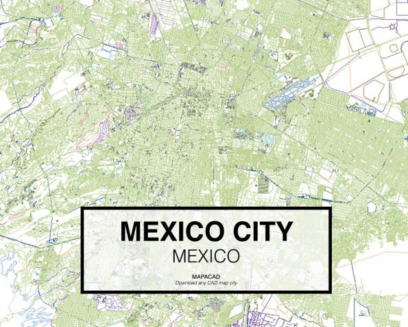 Mexico-Mexico-01-Mapacad-download-map-cad-dwg-dxf-autocad-free-2d-3d